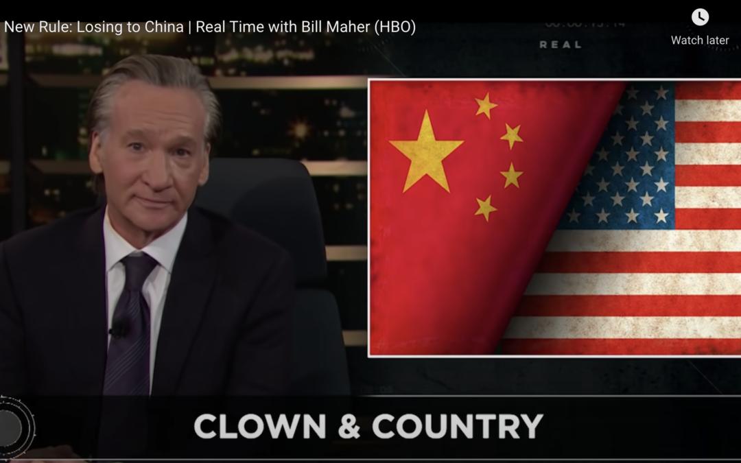 SURPRISE: Bill Maher Slammed Woke Culture as China Soars