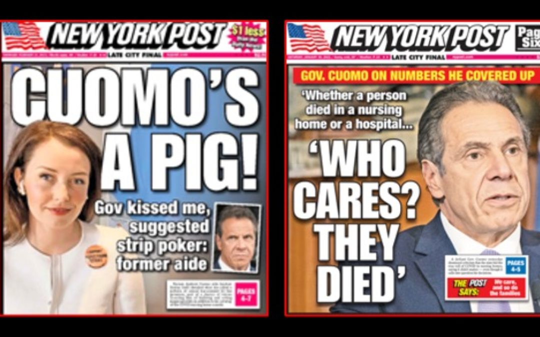 Media's Cuomo Harassment Coverage Obscures More Serious Scandal