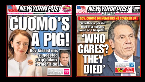 media's Cuomo harassment coverage