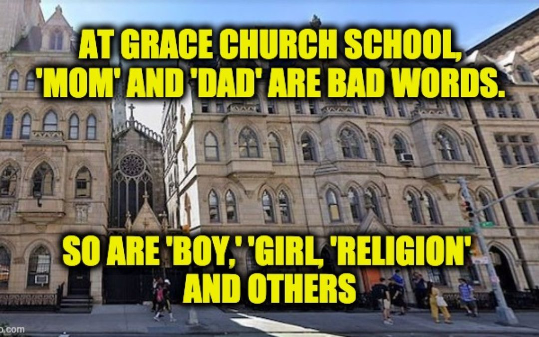 NYC Private School Directs Kids To Stop Using Bad Words Like Mom And Dad