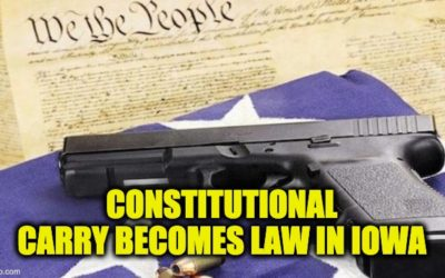 New Iowa Gun Laws: Constitutional Carry, Private Gun Purchase, And Protecting Firearm Businesses