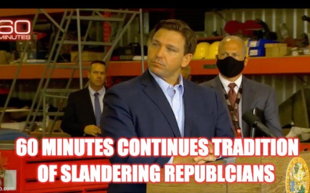 60 Minutes Deceptively Edits Florida Gov. Ron DeSantis To Push Blatant Smear Job