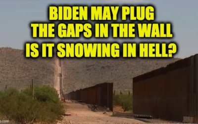 Biden's DHS Secretary Says Border Wall Construction Could Resume To Close The Gaps