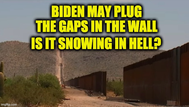 close gaps border wall