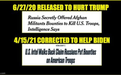 "The Reason ""Russian Bounty On US Troops"" Story Was Released, And The Reason It Was Corrected"