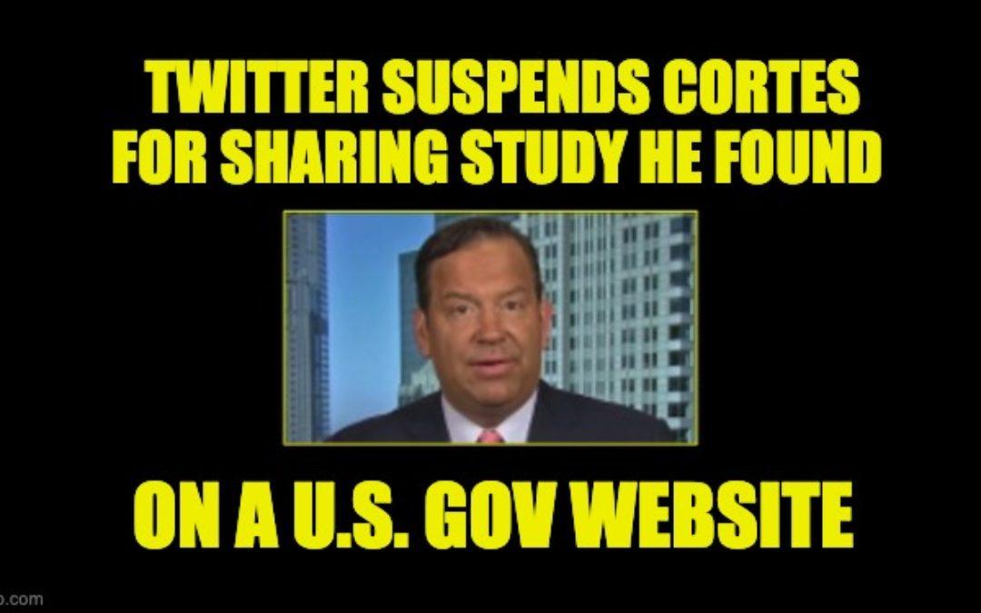 Twitter Suspended GOP Commentator Steve Cortes For Citing Study He Got From Govt Website
