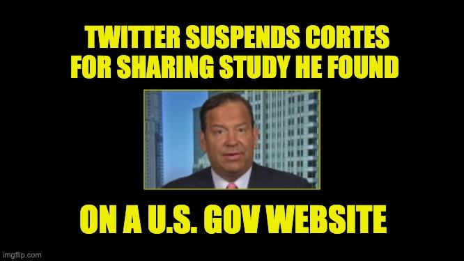 Twitter suspended Steve Cortes