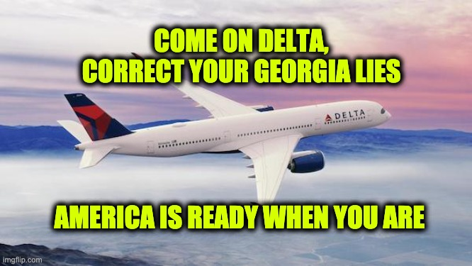 Delta Georgia lies