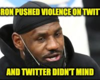 Twitter Grants LeBron James, Dumb Jock Privilege