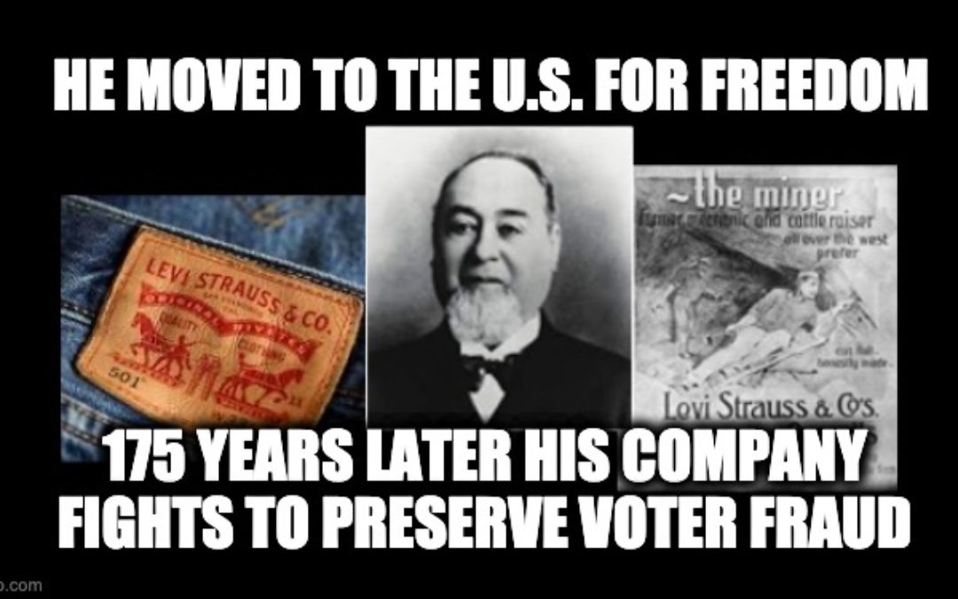 Woke Levi Strauss CEO Condemns GA Voter ID Law- Can't Explain Why It's Racist