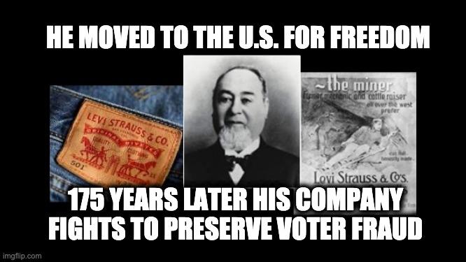 Levi Strauss voter ID