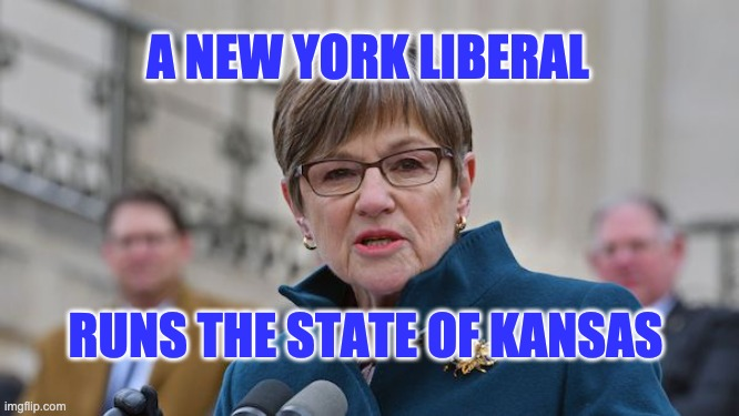 Kansas governor Kelly