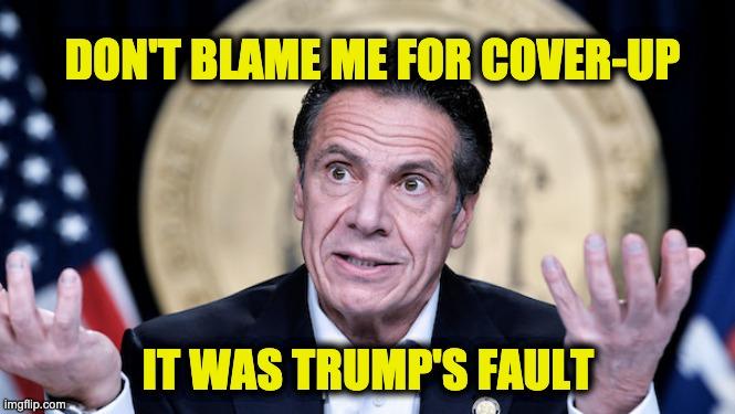 Cuomo blames Trump