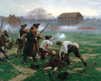 April 19th, 1775, The American Revolution Began With The Shot Heard Round The World