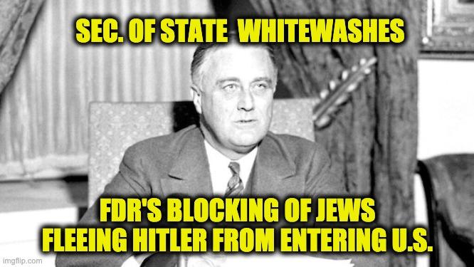 Blinken's Holocaust gaffe