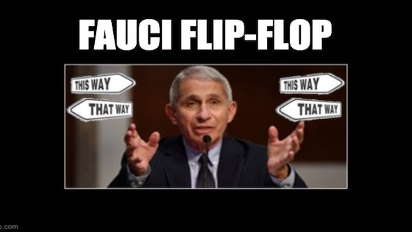 Fauci flip-flopped COVID source