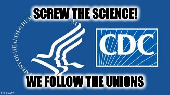 teachers' union influenced CDC
