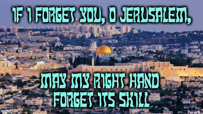 don't know about Jerusalem