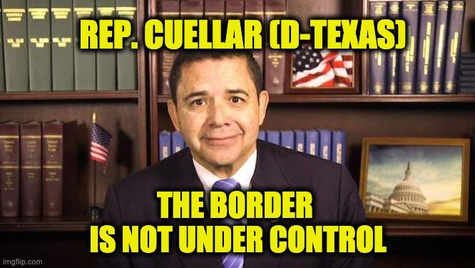 Border not under control