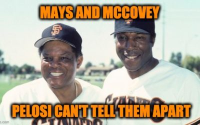 Nancy Pelosi Wishes Willie Mays A Happy 90th Birthday By Posting Photo Of Willie McCovey