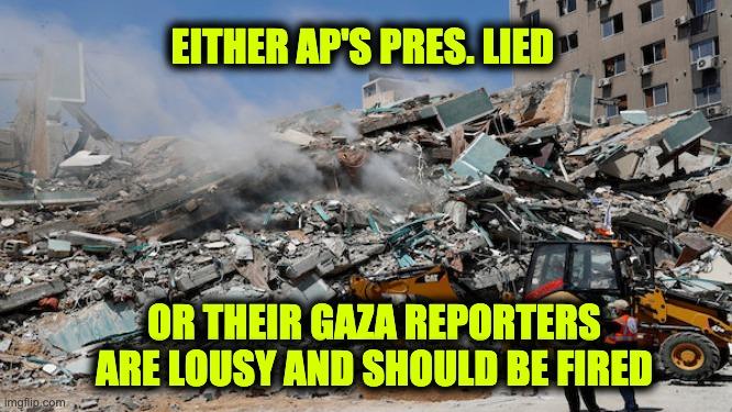 AP fire Gaza reporters