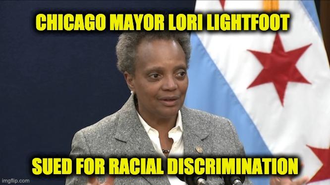 Mayor Lori Lightfoot sued
