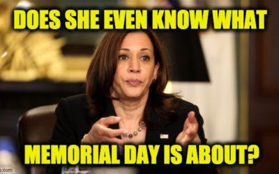 VP Harris Gets Shredded On Twitter For Insensitive Memorial Day Tweet