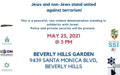L.A. Rally United Against Terrorism On May 23