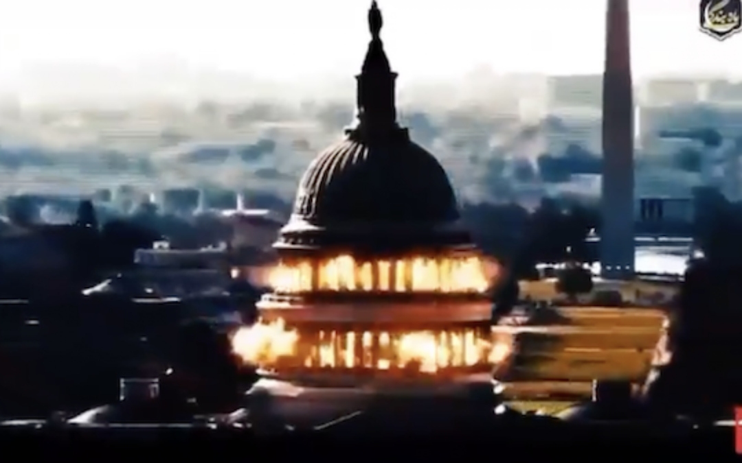 Kerry's BFFs In Iran Launched Propaganda Vid Destroying Capitol Building (VIDEO)