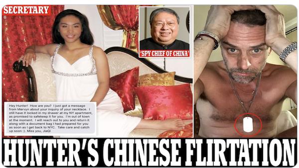 Hunter's Chinese spy