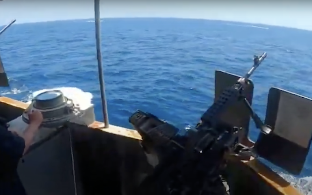 USCG Cutter Fires Warning Shots at Armed Iranian Boats in Strait of Hormuz