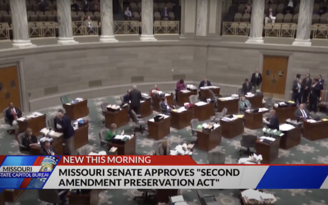 Missouri Senate Passes Bill To Stop Enforcement Of Federal Anti-Gun Actions