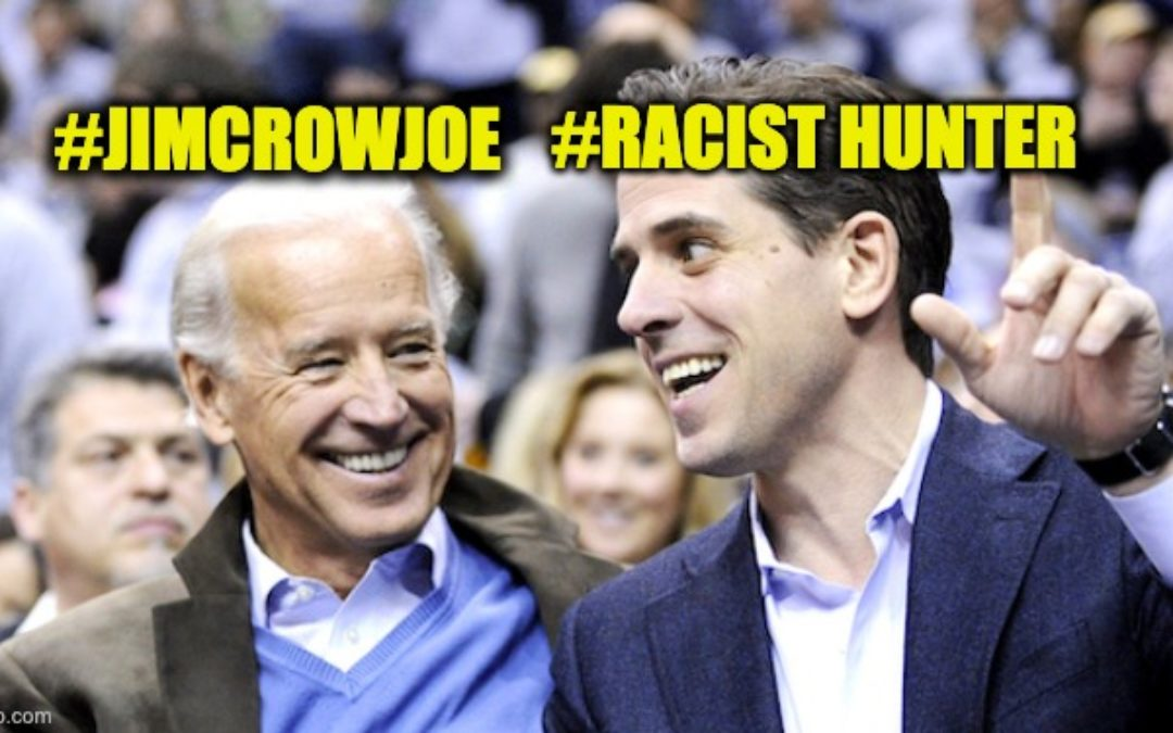 #RacistHunter Trends After #JimCrowJoeBiden's Son Used 'N' Word in Multiple Text Messages