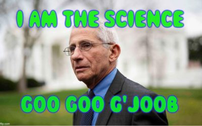 Doesn't Senator Graham Understand That Dr. Fauci Is The Science?