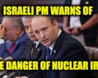 New Israeli PM Naftali Bennett Trashes Negotiations To Reenter JCPOA