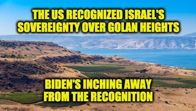 Israel's sovereignty over Golan