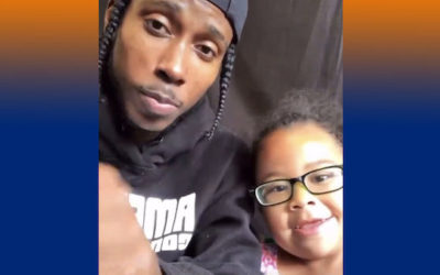 (Video) Young Black Father and His Precious Daughter Warn America of Evils Critical Race Theory