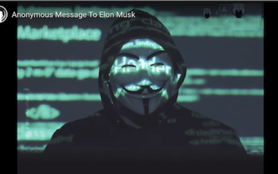 Anonymous Releases Video Threatening Elon Musk Over Bitcoin Manipulation