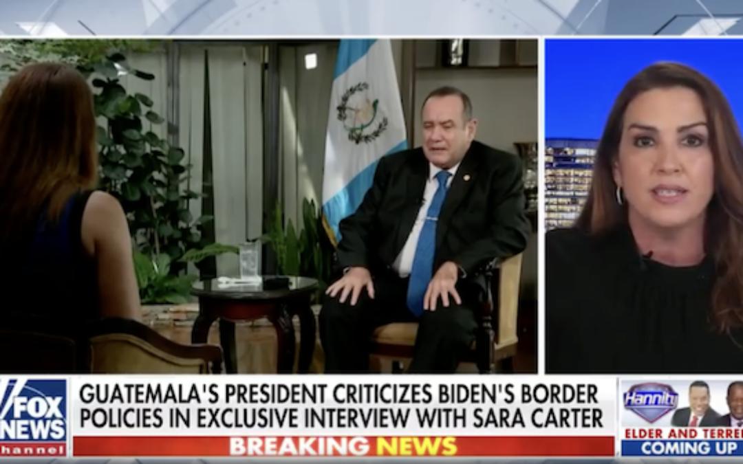President of Guatemala Blames Biden Policy For Border Crisis
