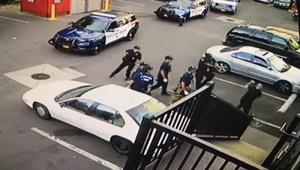 Portland police shot attacker