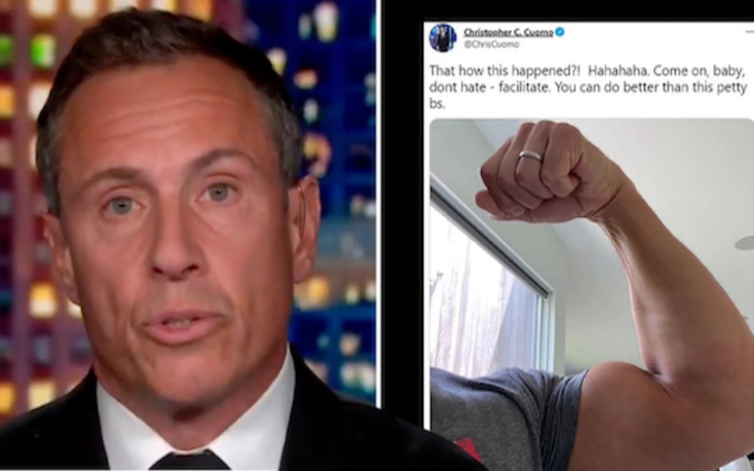 Thin-Skinned Chris Cuomo Causes His Own Twitter Humiliation In Beef With Tiny Account