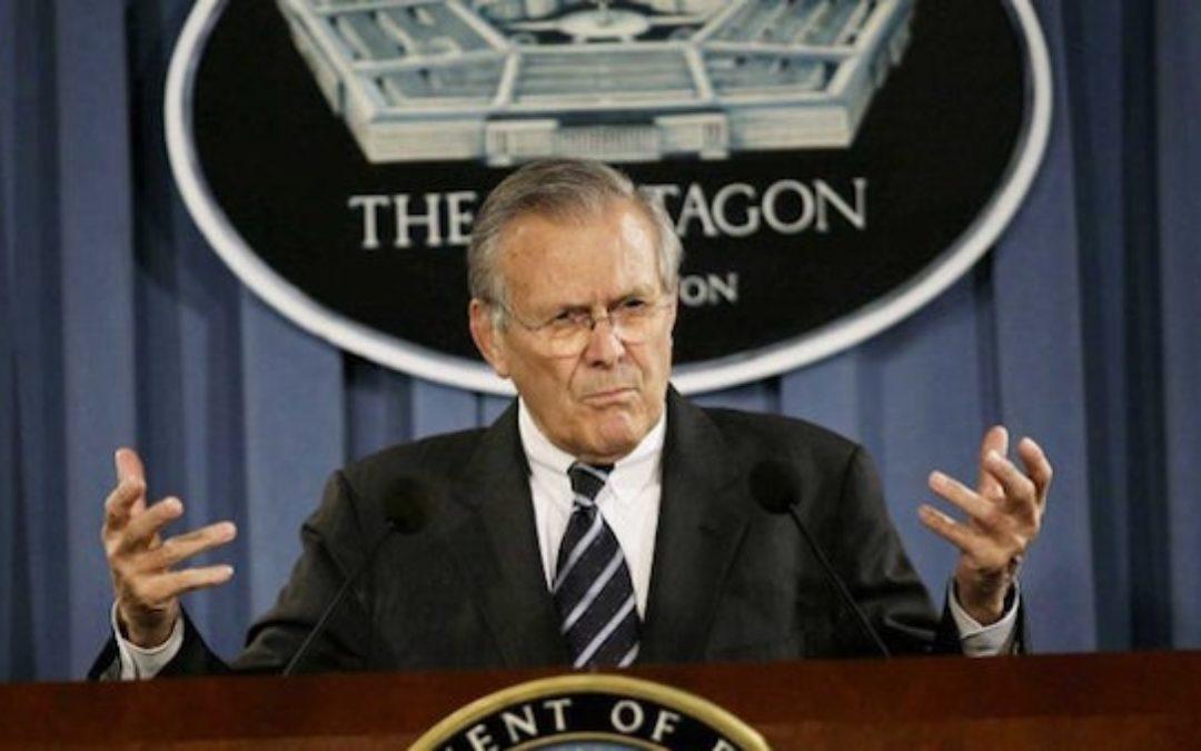 Donald Rumsfeld R.I.P. (1932-2021) A True Public Servant
