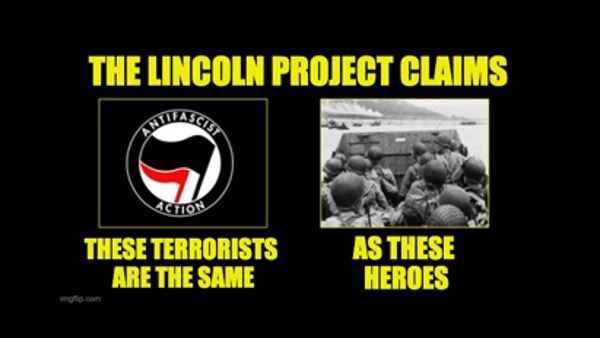 Lincoln Project dishonors D-Day