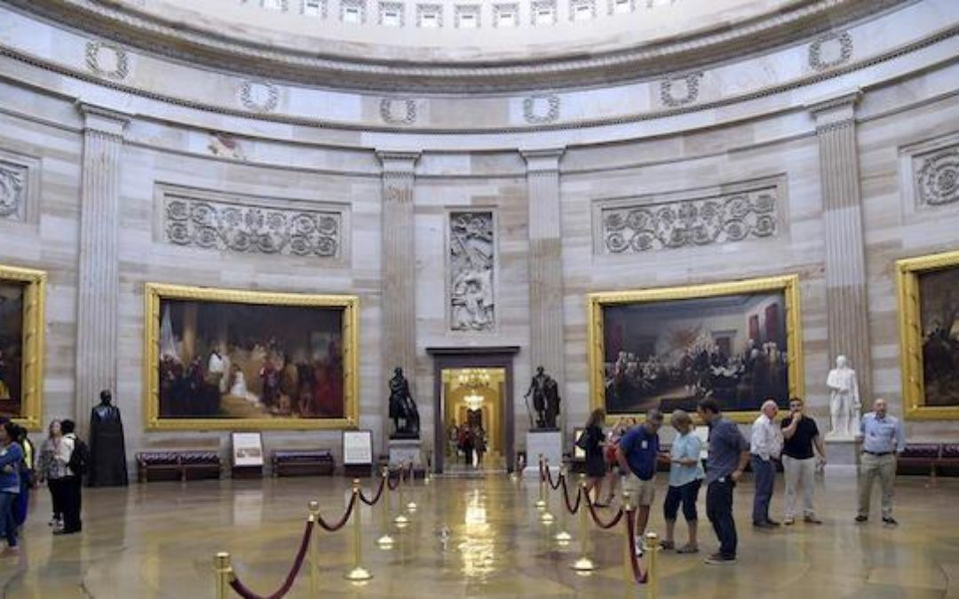 National Archives: Capitol Rotunda Is Example Of 'Structural Racism'