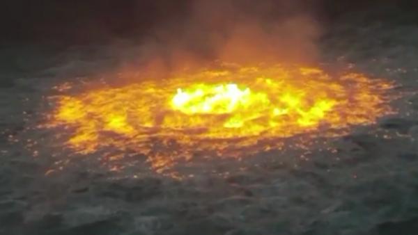 Gulf of Mexico inferno