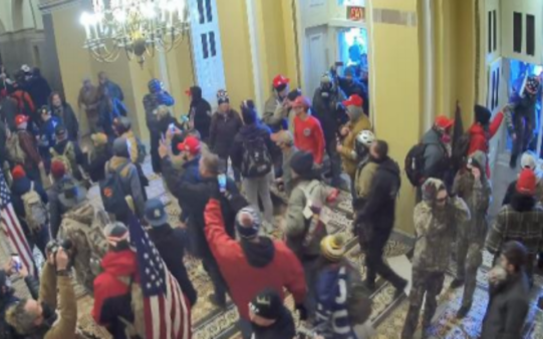 'Draconian' DOJ Tactics Against Jan. 6  Rioters An Attempt To Silence All Government Dissent