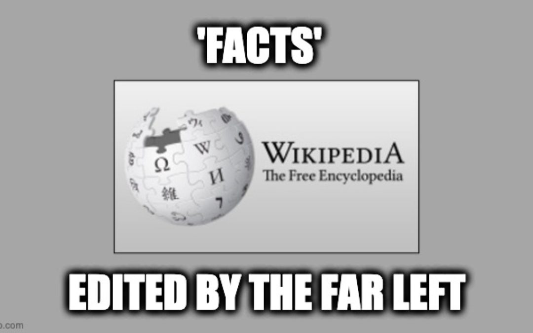 Site Co-Founder Accuses Wikipedia of Becoming 'Thought Police' for Extreme Leftism