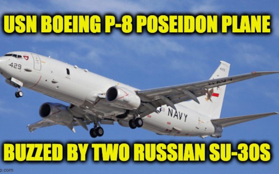 Russian Jets Harass American Plane Over Black Sea