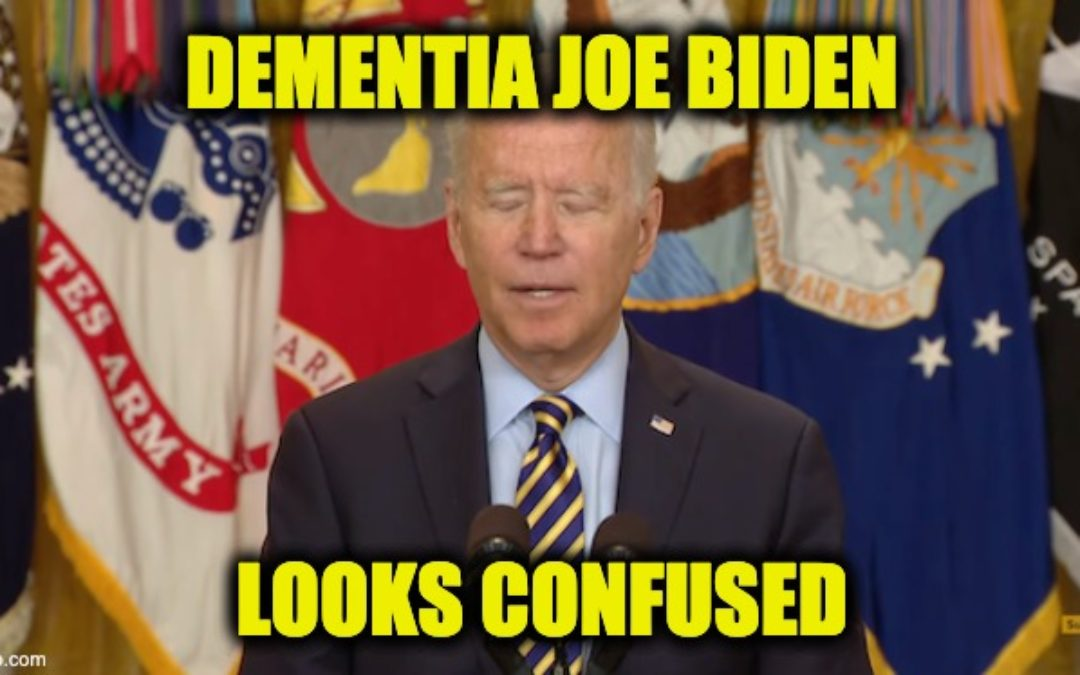 Joe Biden Looks Confused, Forgets His Own Quote, Gets His Own History Wrong in Speech