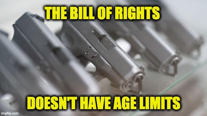 Second Amendment age limits
